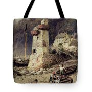 Lynmouth In Devonshire Tote Bag