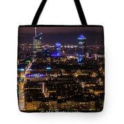 Lyon's Skyscrapers Tote Bag