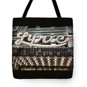 Lyric Theater Birmingham Tote Bag