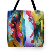 Lyrical Grouping Tote Bag