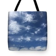 Lyrical Skyscape Tote Bag