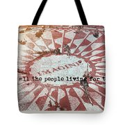 Lyrics Quote Tote Bag by JAMART Photography