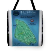 M 185 Ride The Fringe Signage Mackinac Island Michigan Vertical Tote Bag