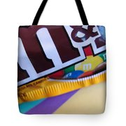 M And M Candy Tote Bag