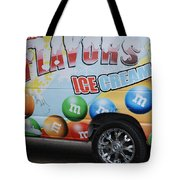 M And M Flavors For The Kids Tote Bag