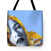 M. Butterfly Tote Bag