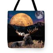 M Index Simple Collage Tote Bag