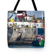 M/v Algoway And Tug Massachusetts Tote Bag