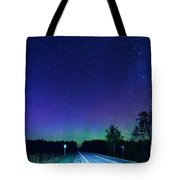 M123 Into Paradise Tote Bag