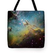 M16 The Eagle Nebula Tote Bag by Ken Crawford
