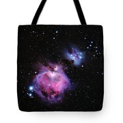M42--the Great Nebula In Orion Tote Bag