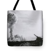 M65 Atomic Cannon Tote Bag