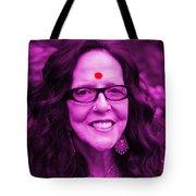 Ma Jaya Sati Bhagavati 12 Tote Bag by Eikoni Images