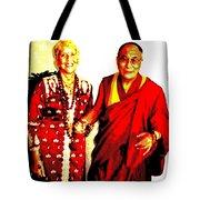 Ma Jaya Sati Bhagavati 13 Tote Bag by Eikoni Images