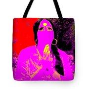Ma Jaya Sati Bhagavati 16 Tote Bag by Eikoni Images