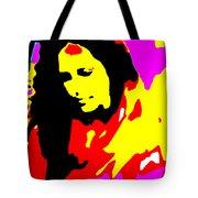 Ma Jaya Sati Bhagavati 5 Tote Bag by Eikoni Images