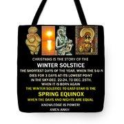 Ma Ra Solstice Tote Bag
