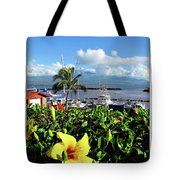 Maalaea Boat Harbor Tote Bag