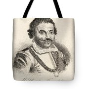 Maarten Harpertszoon Tromp 1598 - 1653 Tote Bag
