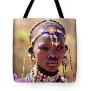 Maasai Beauty Tote Bag