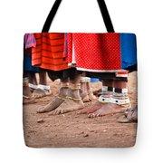 Maasai Feet Tote Bag