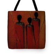 Maasai Trio  Tote Bag
