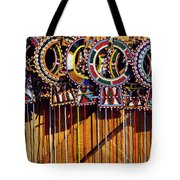 Maasai Wedding Necklaces Tote Bag