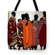 Maasai Women Tote Bag