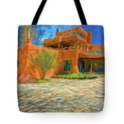 Mabel Dodge Luhan House As Oil Tote Bag