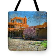 Mabel's Courtyard Tote Bag