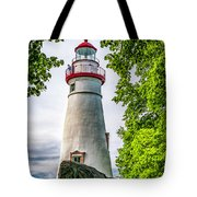 Mablehead Light From The Rocks Tote Bag