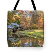 Mabry Mill. Blue Ridge Parkway Tote Bag