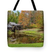 Mabry Mill In Fall 1 Tote Bag