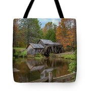 Mabry Mill In Fall 2 Tote Bag
