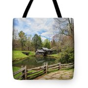Mabry Mill In The Spring Tote Bag