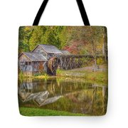 Mabry Mill Reflections Tote Bag