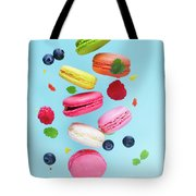 Falling In Love With Macaroons  Tote Bag