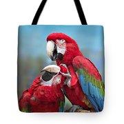 Macaw Love Tote Bag