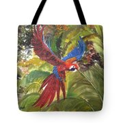 Macaw Parrot 3 Tote Bag