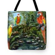 Macaws Tote Bag