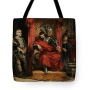 Macbeth Instructing The Murderers Employed To Kill Banquo Tote Bag