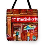 Macdohertys Icecream Parlor Tote Bag