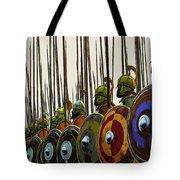 Macedonian Phalanx Tote Bag