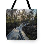 Macgregor Point Boardwalk Tote Bag