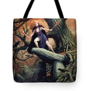 Macha The Irish Goddess Of War Tote Bag
