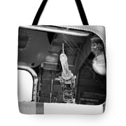 Machine Gun Wwii Aircraft Tote Bag