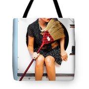 Machine Wash Housewife Tote Bag