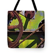 Machinery Gears  Tote Bag by Garry Gay