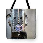 Machinists Drill With Precision Tote Bag