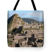Machu Picchu City Archecture Tote Bag